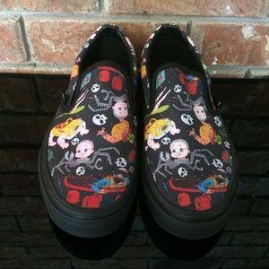 c8cada4b5c Vans Shoes - Vans Toy Story Slip-On Women Sz 5.5 Black Sid s